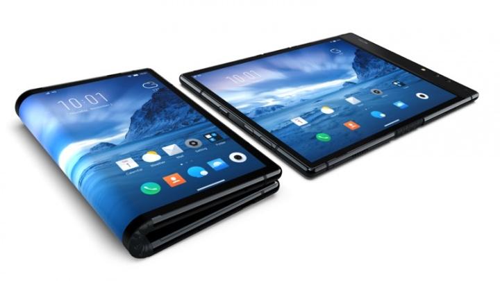 FlexPai Rouyu ecrã dobrável smartphone