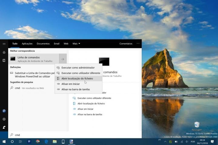 Windows 10 administrador app permissões dica