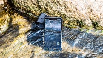 Blackview BV9600 submerso