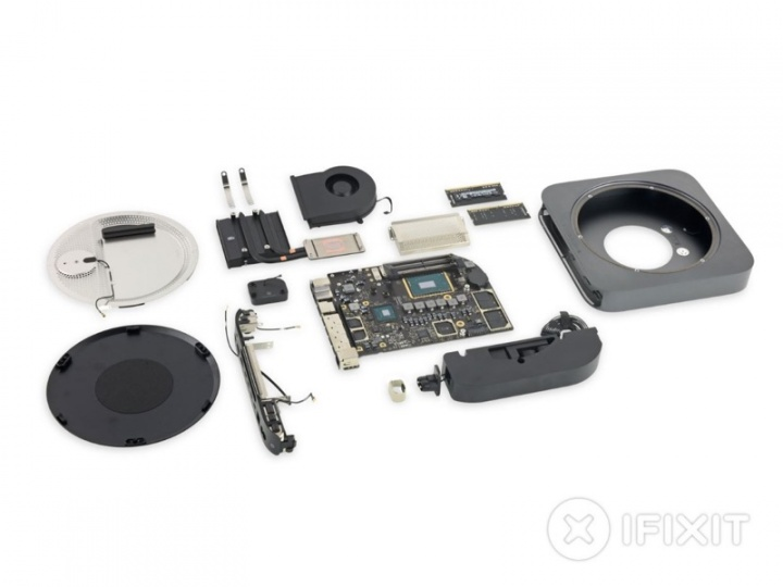 Mac mini iFixit Apple reparar máquinas