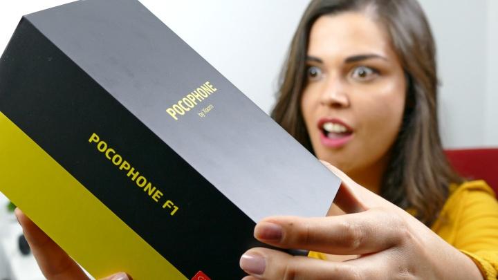 Passatempo: Habilite-se a um Xiaomi Pocophone F1