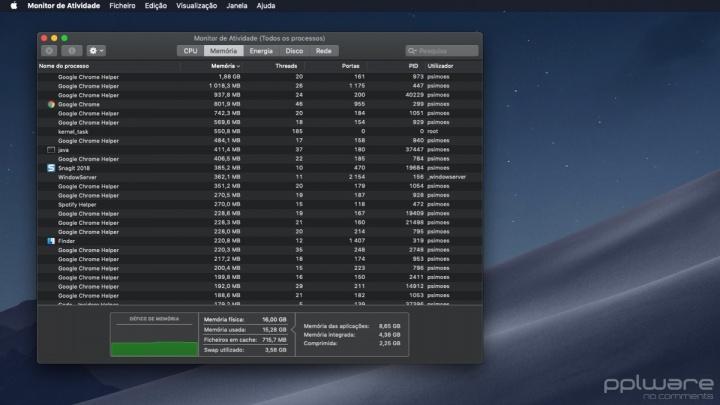 macOS purge memória emergência dica