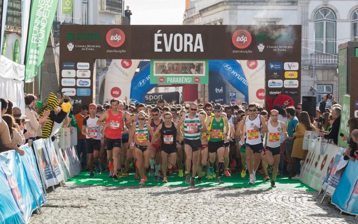 imagem meia maratona Évora
