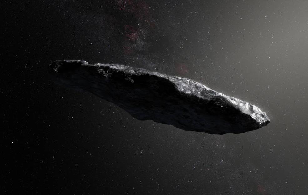 Asteroide Oumuamua poderá ser uma nave alienígena, dizem os