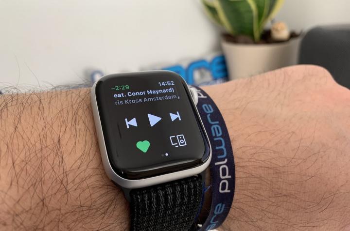 Imagem Spotify no Apple Watch