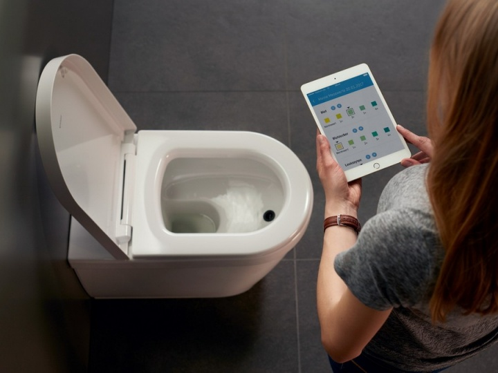 Imagem wc com tecnologia inteligência artificial para diagnosticar doenças