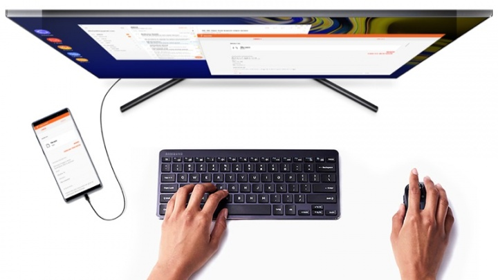 Samsung Dex Linux Android smartphones