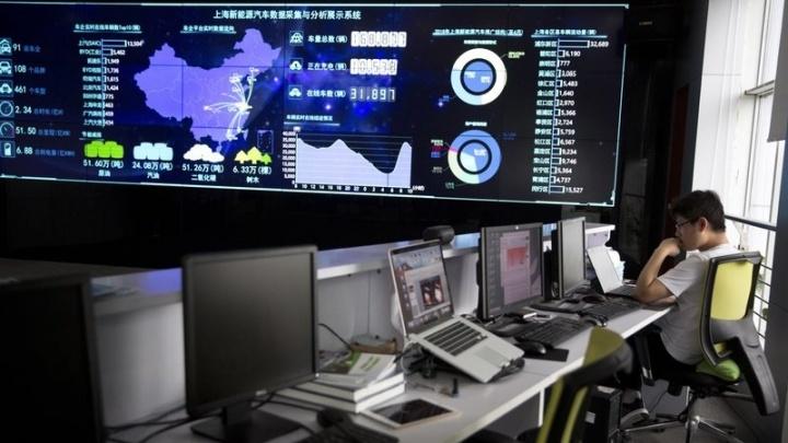 governo chinês veículos elétricos dados recolher dados