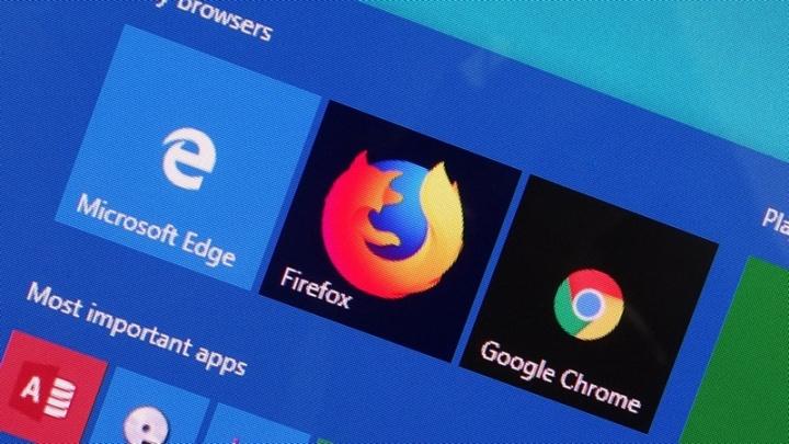 Firefox Edge Microsoft browser Windows 10