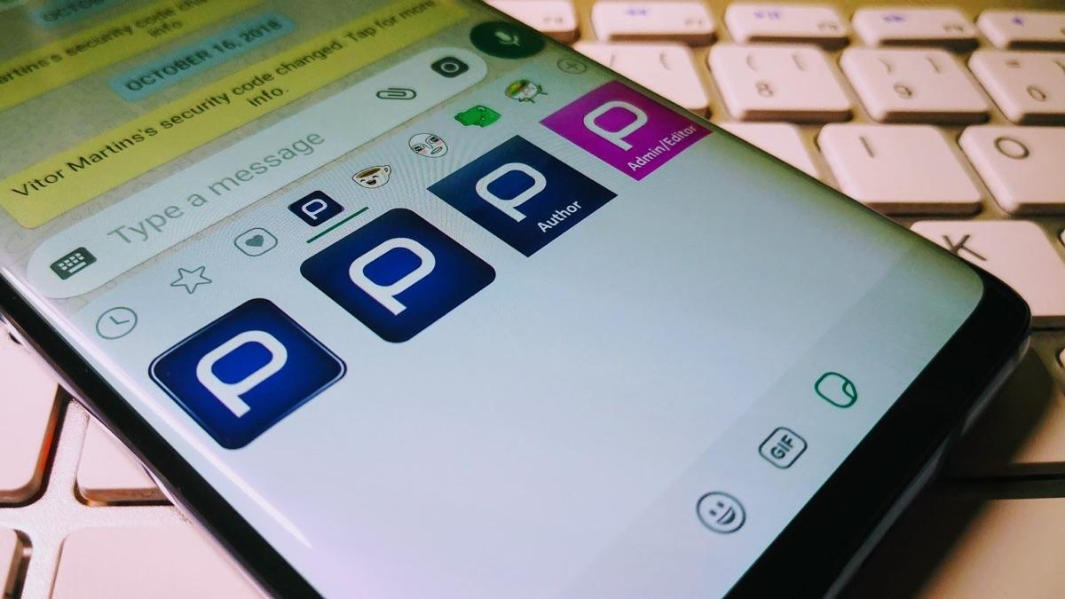 Whatsapp stickers apple app store aplicações