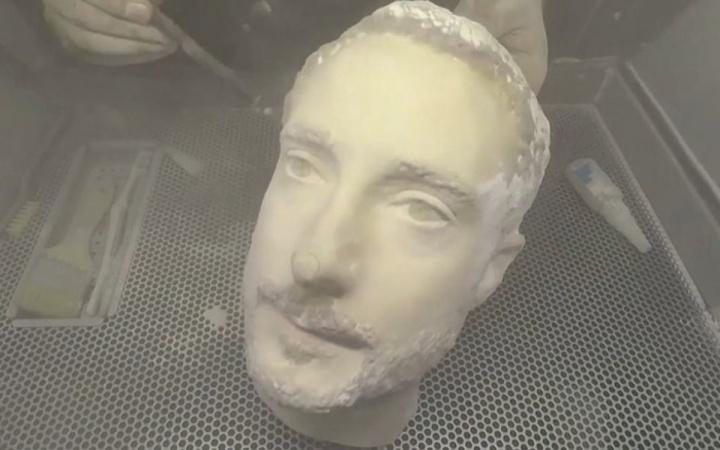 3D cabeça smartphones reconhecimento facial