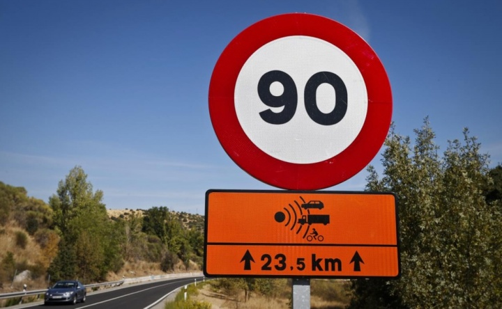 If it goes to Spain, the new speed limit of 90Km / h