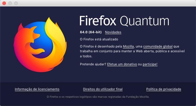 Firefox Mozilla separadores gestão preocupação