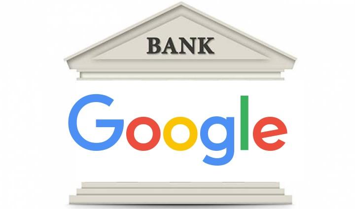 Ilustração Google Banca, os novos serviços bancários Google Pay