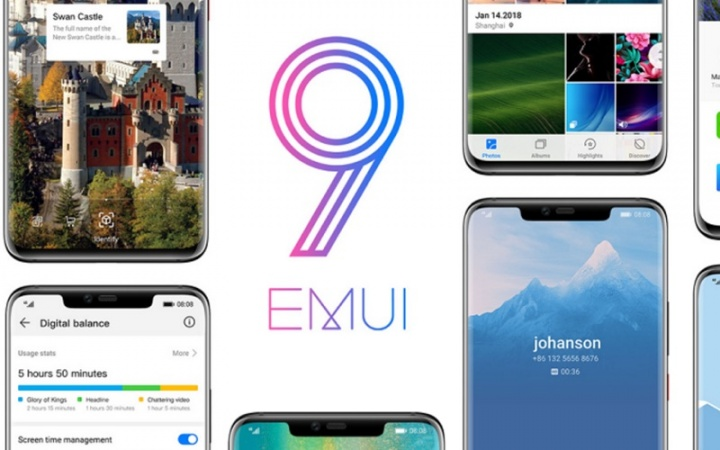 Huawei Android EMUI 9.0 Android Pie EMUI