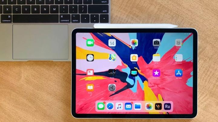 iPad Pro Apple dobrado fábrica processo