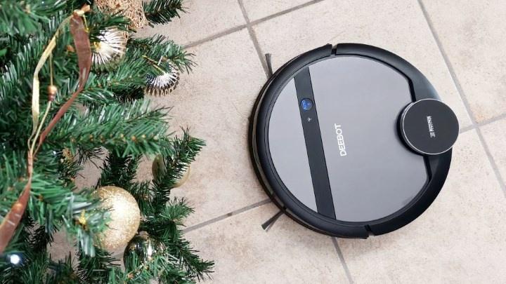 Passatempo de Natal: Ganhe um robô aspirador Ecovacs Deebot 901