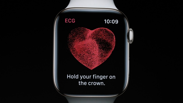 Imagem Apple Watch Serie 4 com ECG