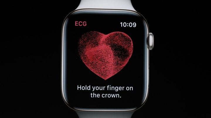 67bbc87715a Imagem Apple Watch Serie 4 com ECG