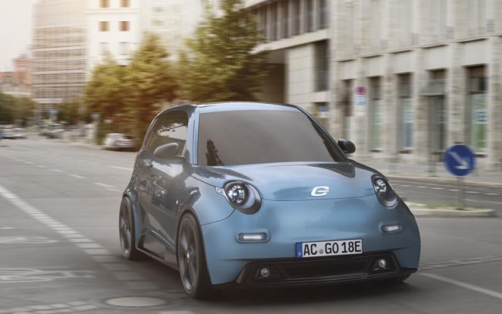 Imagem carro elétrico da e.Go Mobile por menos de 20 mil euros