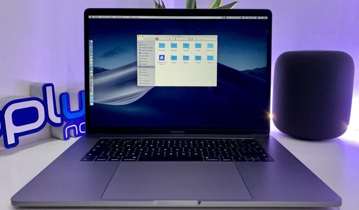 Imagem Macbook Pro com macOS Mojave e o Finder aberto