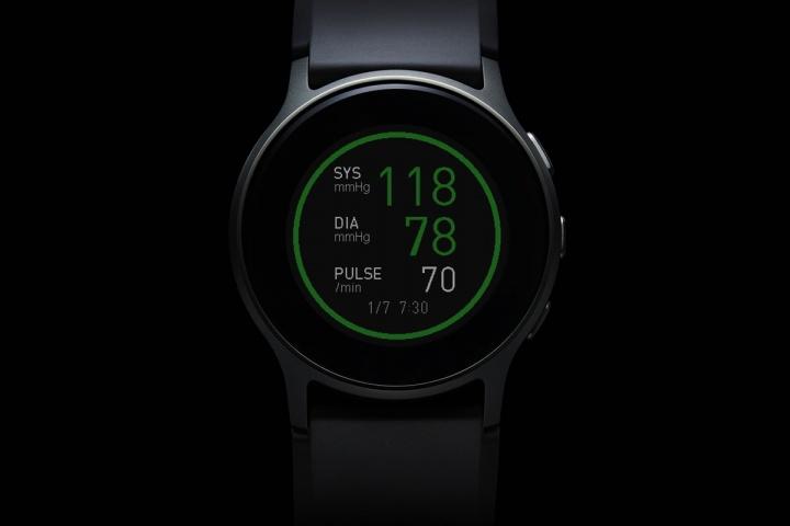 Imagem HeartGuide, relógio que mede a pressão arterial
