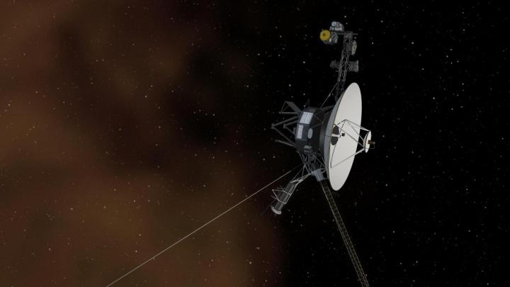 Imagem da nave Voyager 2 da NASA
