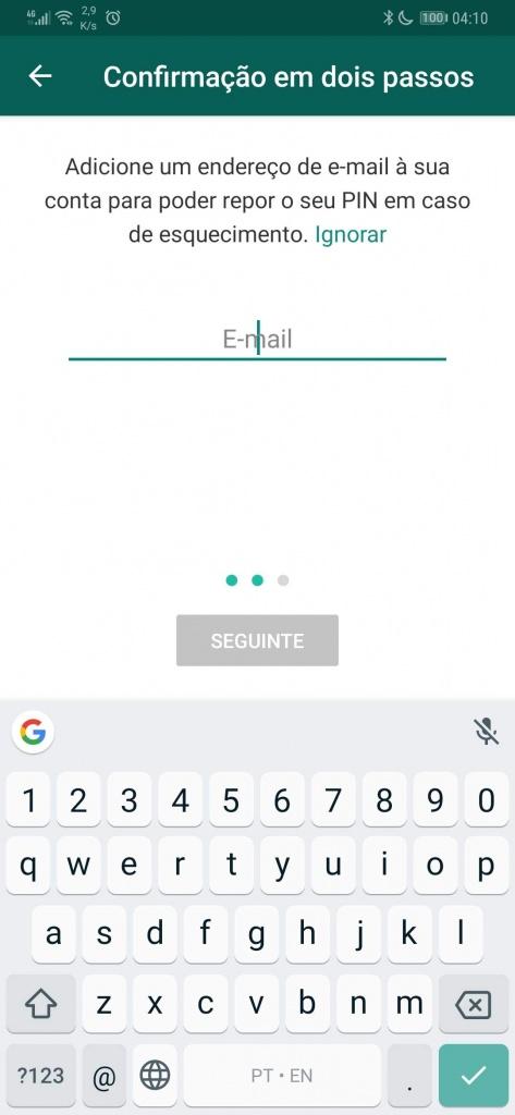 WhatsApp segurança mensagens aumentar Android