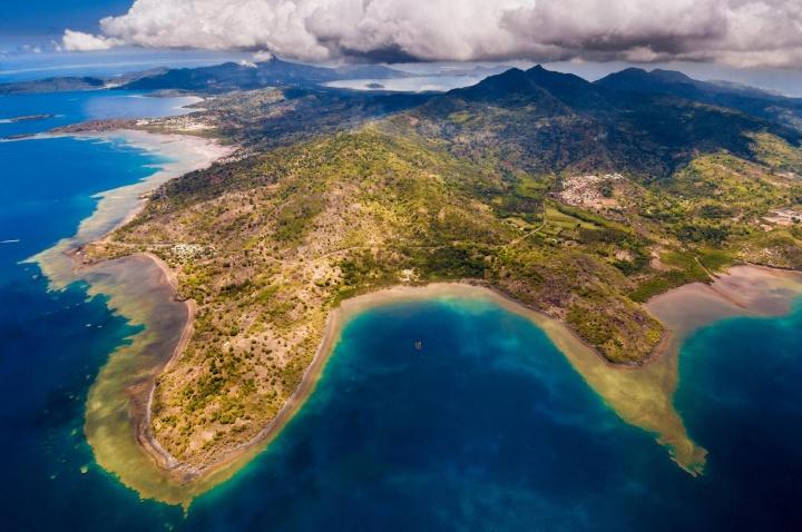 Imagem da ilha de Mayotte de onde surgiu um estranho zumbido que percorreu todo planetas e ninguém ouviu