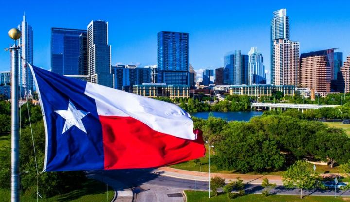 Bandeira do Texas - imagem retirada do site The Daily Meal