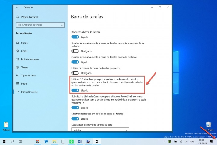 Windows 10 desktop janelas abertas dica