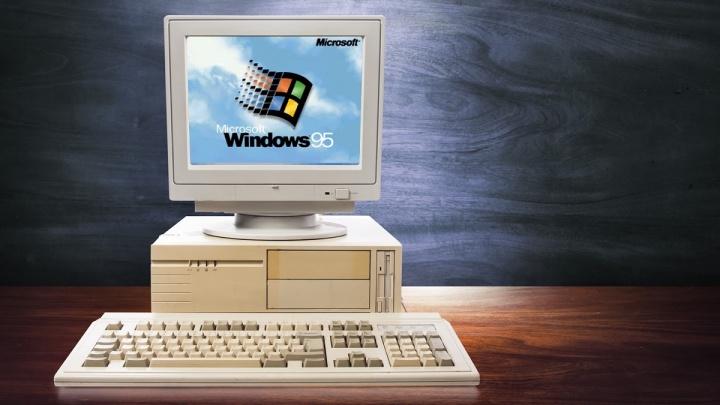 Windows 95 Microsoft apresentar nostalgia amanhã