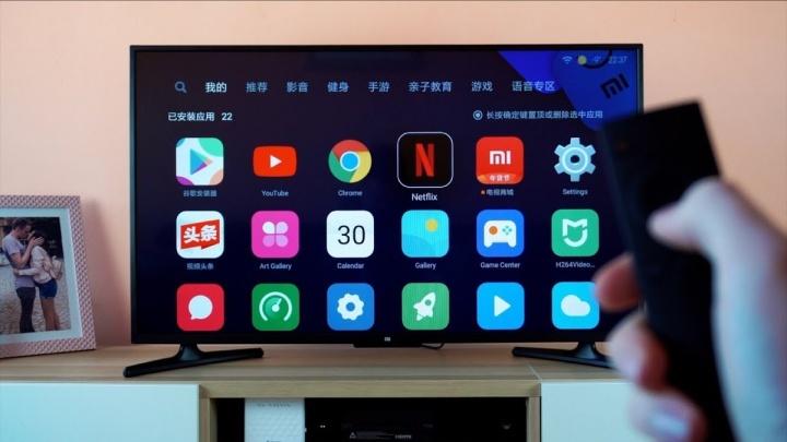 Xiaomi televisão publicidade usar