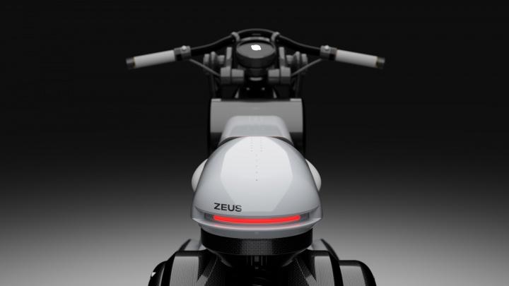 Zeus Cruiser: Moto elétrica com 140kW e que custará cerca de 53 mil euros