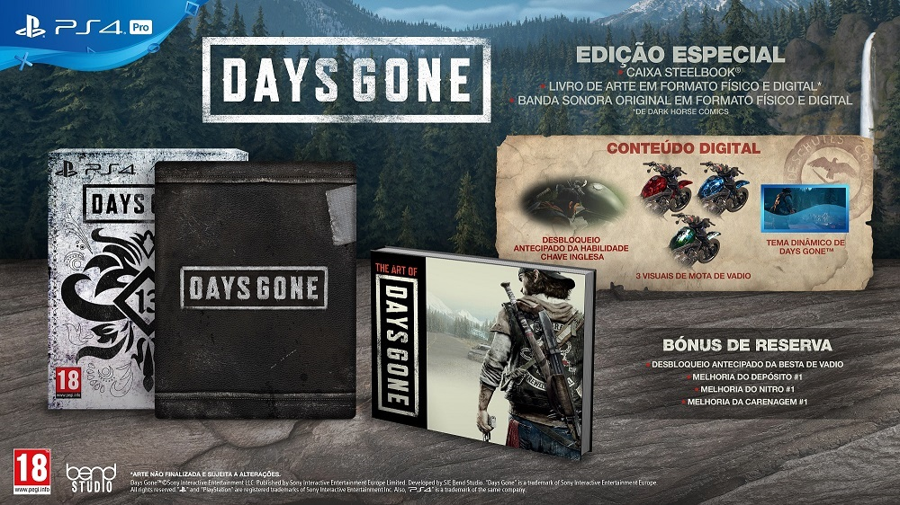1ab7862eef Days Gone já tem edições especiais - Pplware