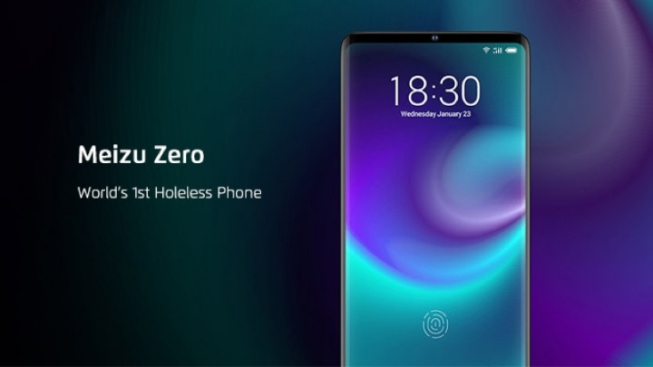 Meizu Zero launches the door phone