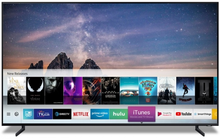 televisões Samsung Apple iTunes AirPlay 2