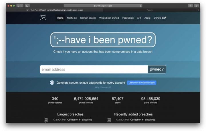 ataque password internet site conta sites