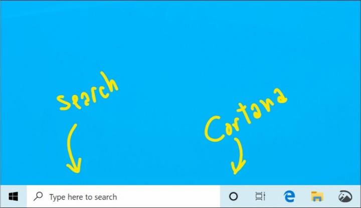 Microsoft Windows 10 Cortana pesquisa Insiders