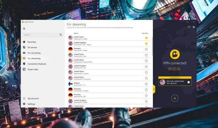 CyberGhost VPN, um dos mais baratos e completos serviços de VPN