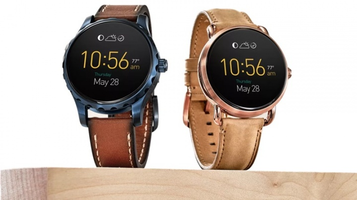 Google smartwatches Fossil Wear OS relógio