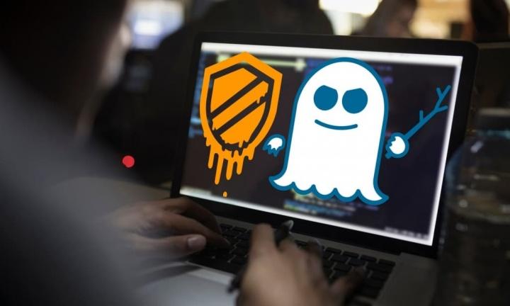 Imagem das vulnerabilidades Intel: Spectre e Meltdown.
