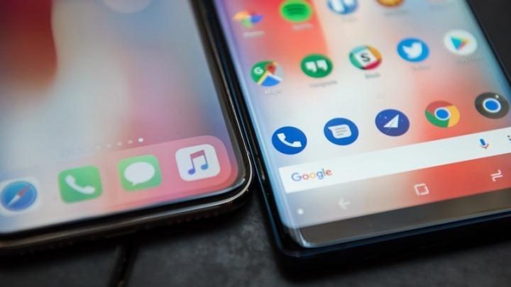 Android iOS sistemas operativos móveis fiéis