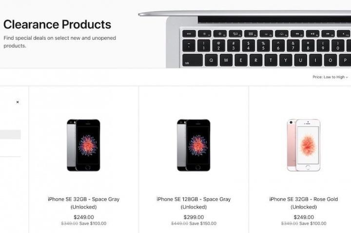 Apple iPhone iPhone SE venda descontinuado