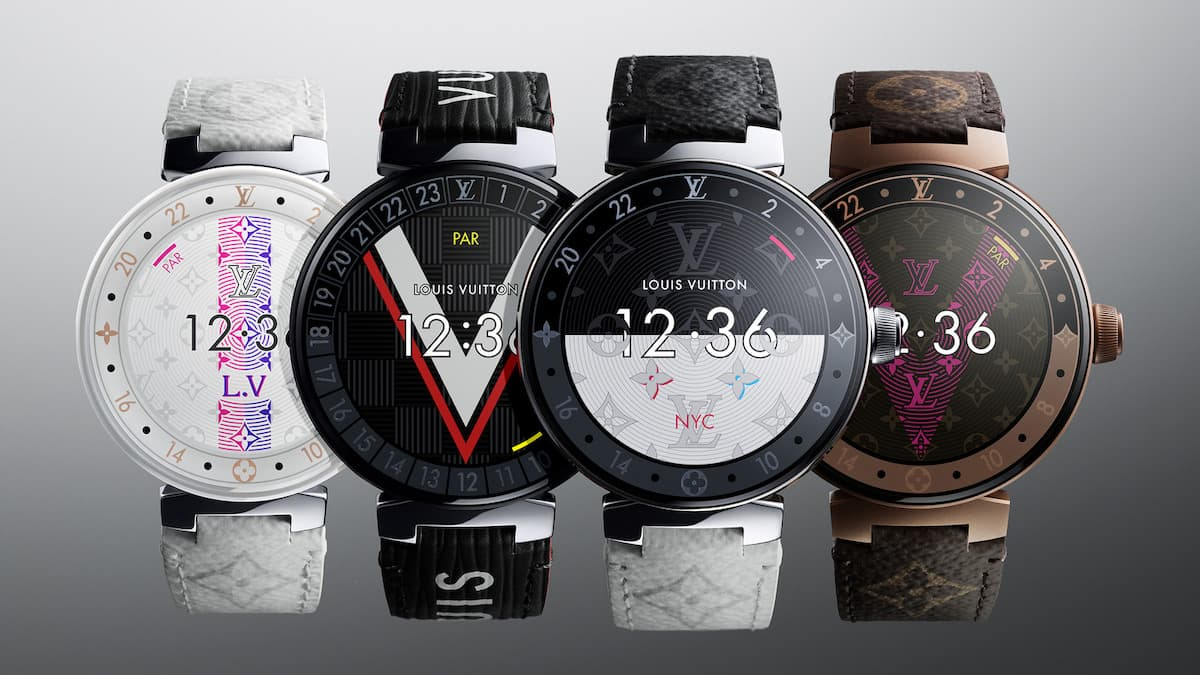 QnA VBage Quer um smartwatch Louis Vuitton com o WearOS da Google? Então prepare 2500€