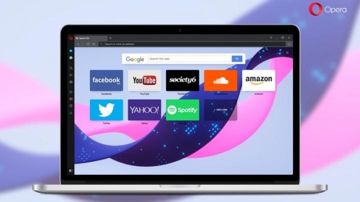 Opera browser atualização alerta notícias