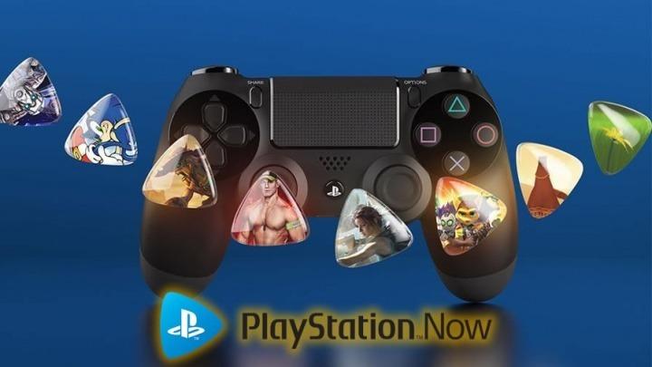 Imagem para o serviço de jogos Playstation Now