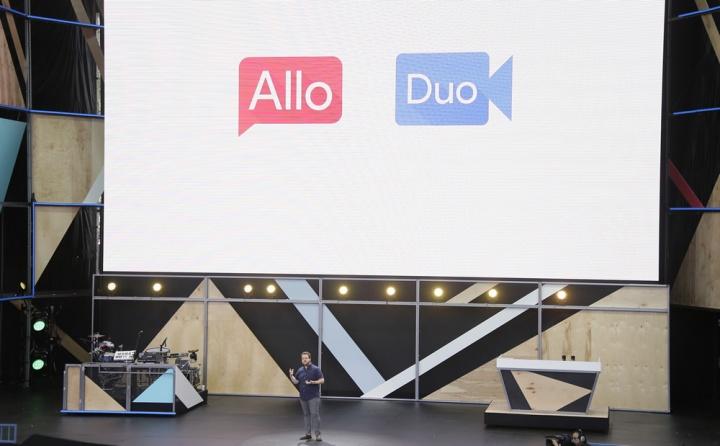 Imagem Google Allo, Duo e Hangouts