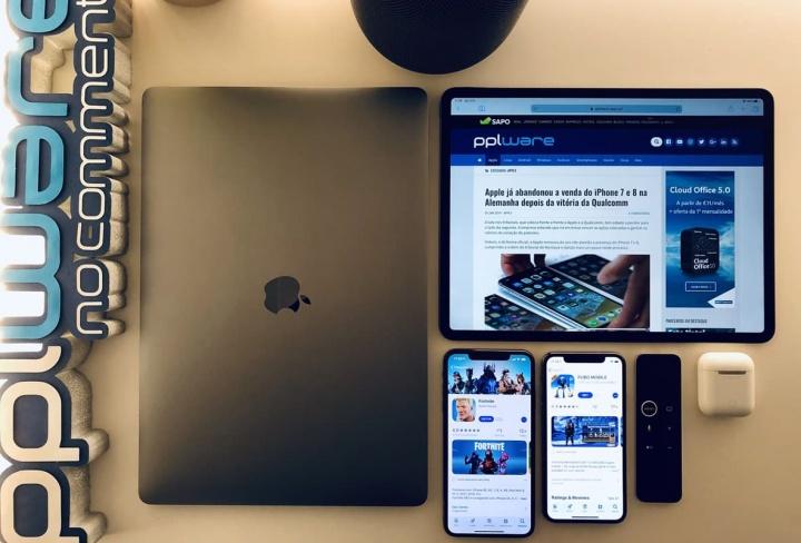 Imagem App Store da Apple e recorde de vendas em aplicações