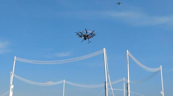 Tecnologia de carregamento sem fios permite que drones permaneçam no ar indefinidamente
